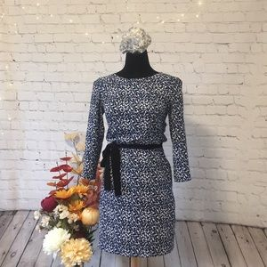 H&M Dot Pattern, Long Sleeve, Pocket Dress